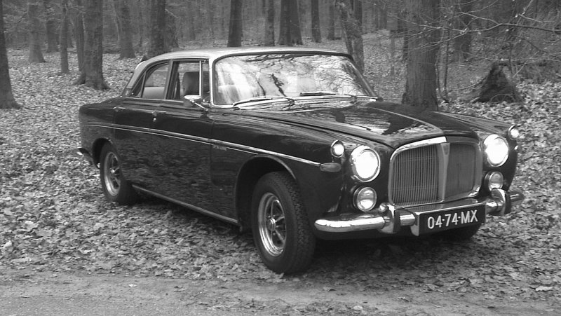 Rover P5B (17.03.1970) eigenaar Martin Remeeus